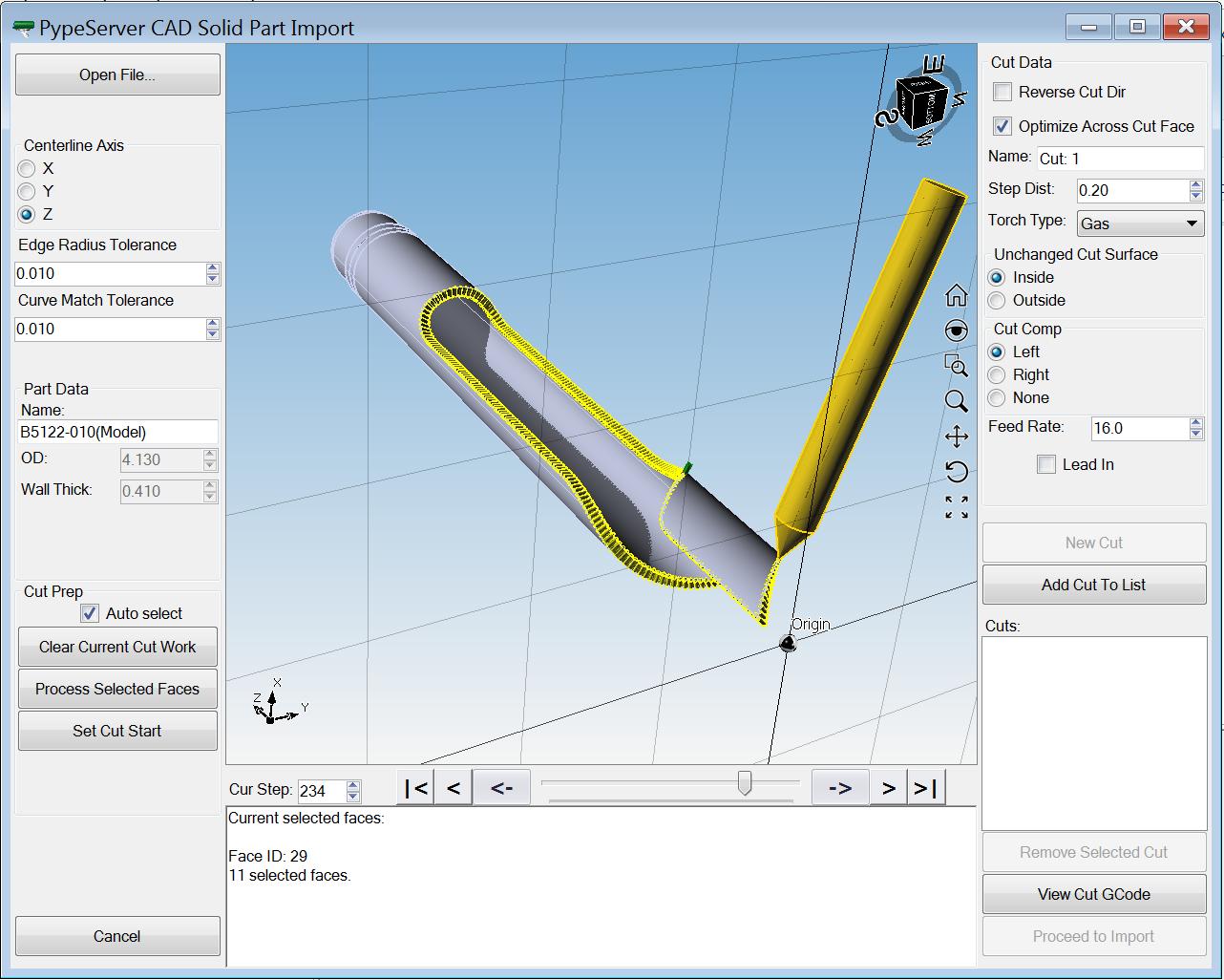 SW3-STP solid importer ScreenShot