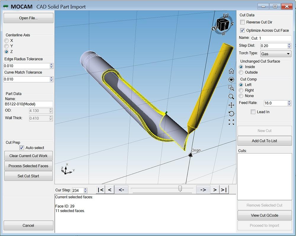 MOCAM Software Modellierung