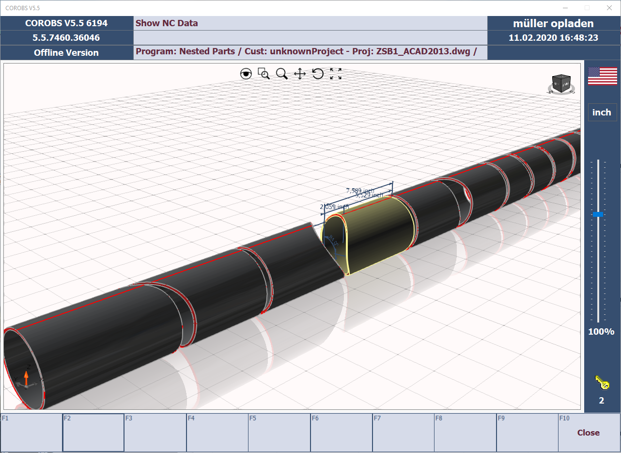 tube profiling software for CNC