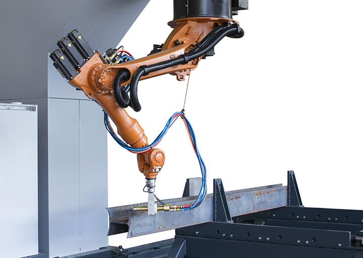 flame-cutting-robot