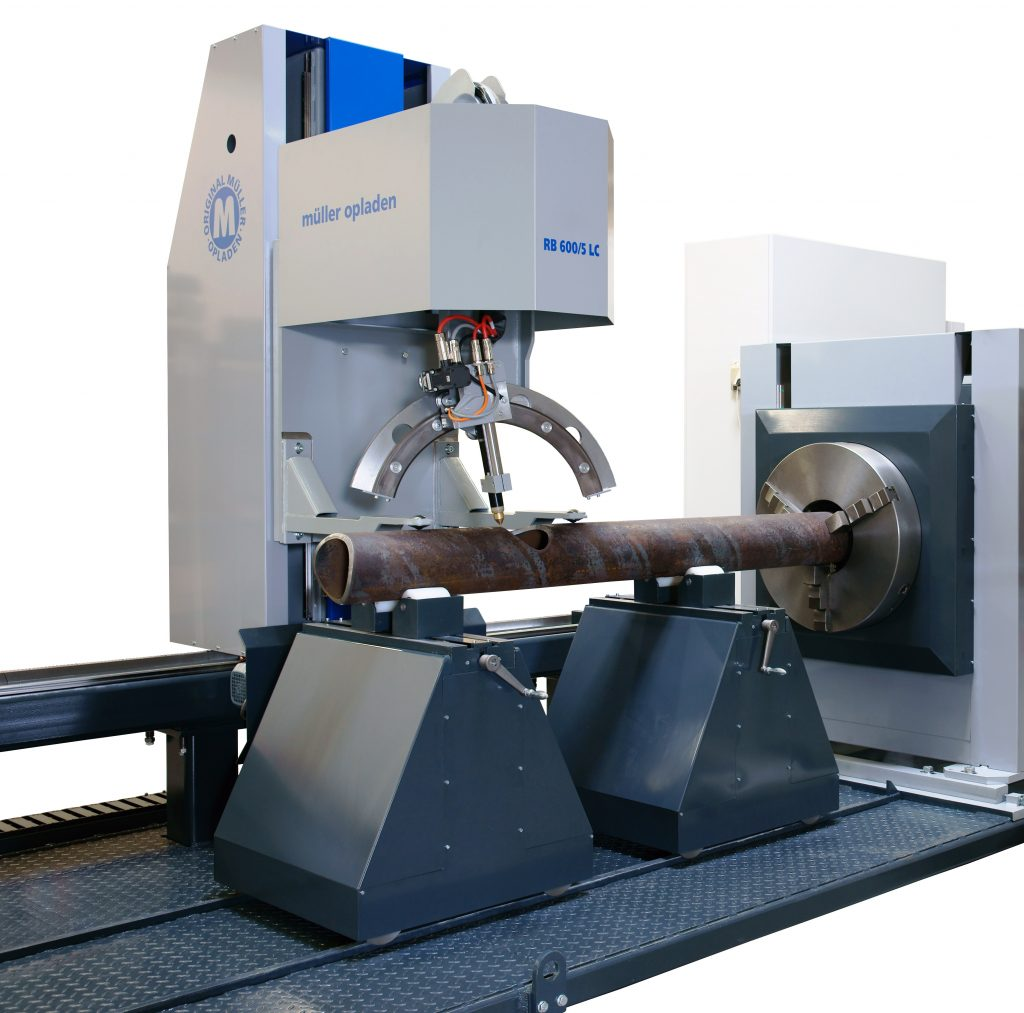 3D pipe cutting machine for profile cutting
