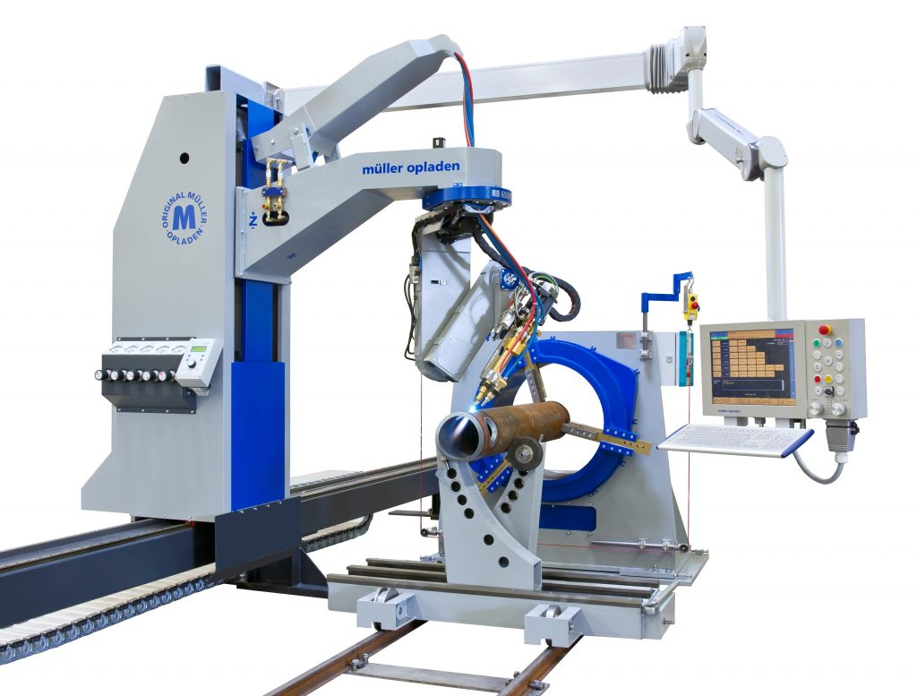 MO-Compact pipe profile cutting machine