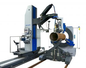3D profile cutting machines for round pipes and square shapes