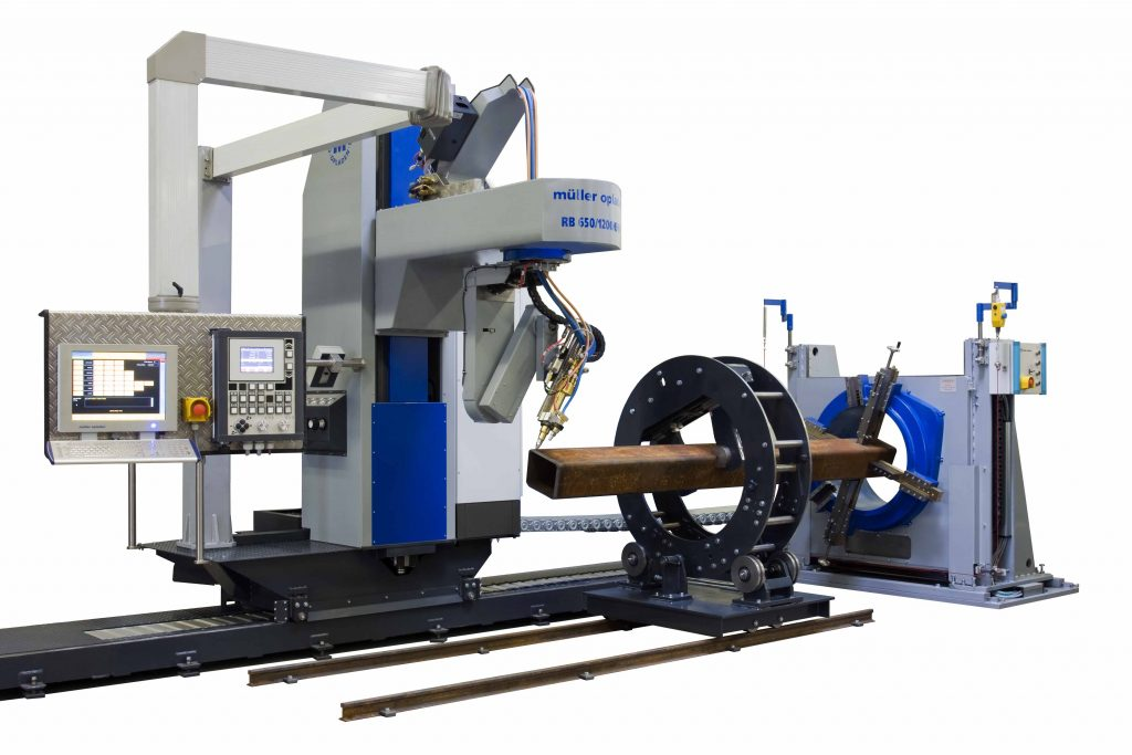 profile cutting machine or coping machine