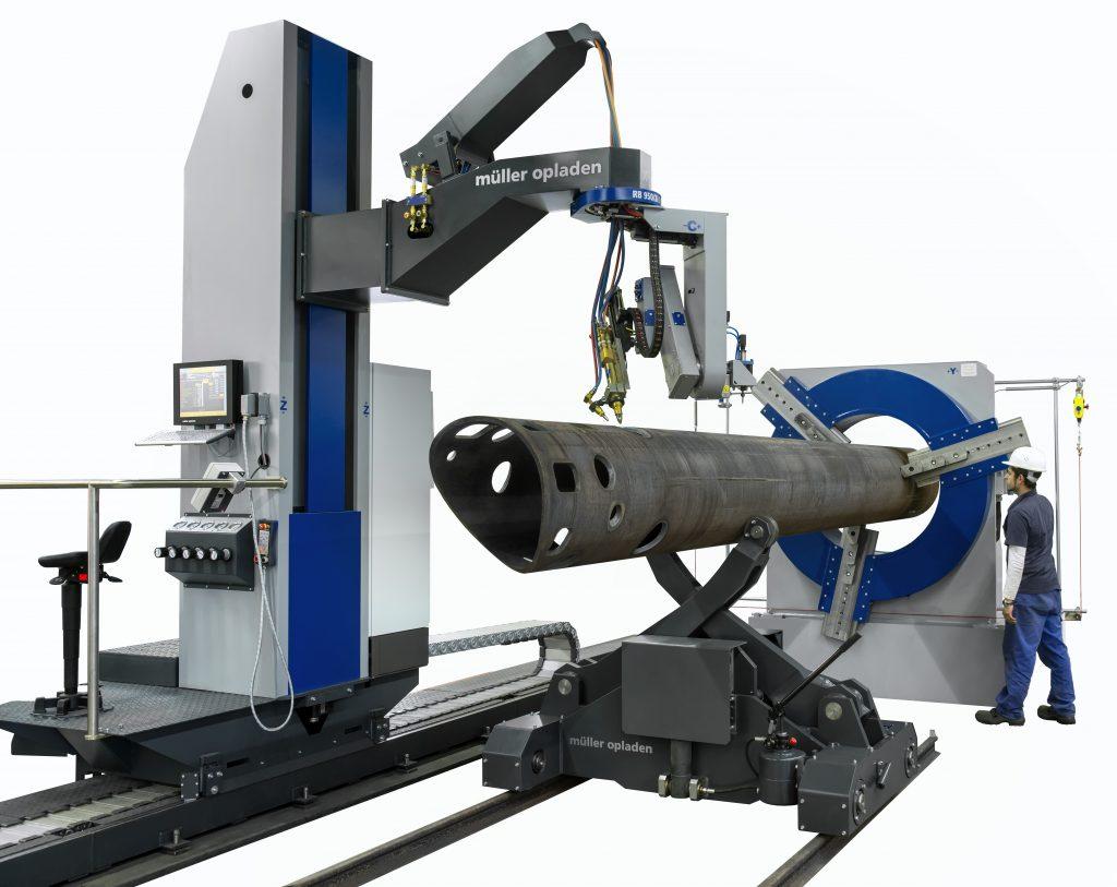 cnc tube cutting and profiling machine