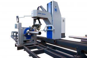 tube profile cutting machine for cutting steel tube