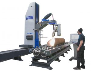 3D profiling machine for pipes