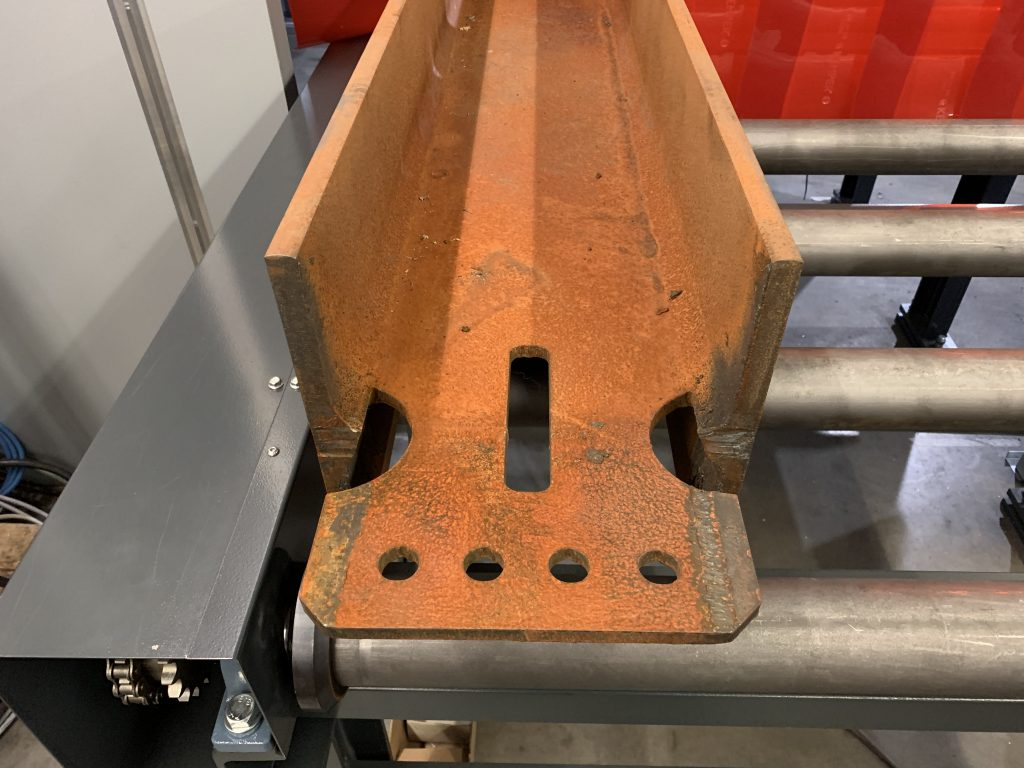 3d plasma profile cutting machine for beams and steel profiles