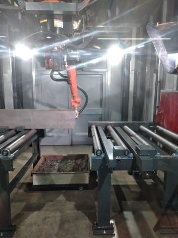 plasma beam profile cutting machine